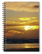 Sunset At Westport  Spiral Notebook