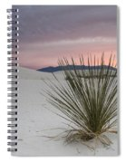 Sunset At White Sands Spiral Notebook