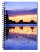 Sunset Bay Spiral Notebook