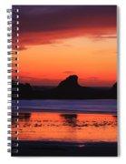 Sunset Bay Sunset 2 Spiral Notebook