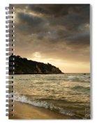 Sunset Beach Spiral Notebook