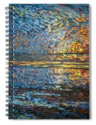 Sunset Before The Storm Spiral Notebook