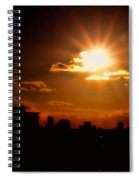 Sunset Behind Ft. Lauderdale By Diana Sainz Spiral Notebook