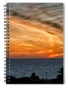 Sunset Blues Spiral Notebook