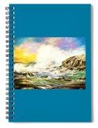 Sunset Breakers Spiral Notebook