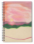 Sunset By Jrr Spiral Notebook