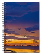 Sunset By The Bay Spiral Notebook