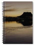 Sunset Canoe Spiral Notebook