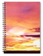 Sunset, Canyon De Chelly, Arizona, Usa Spiral Notebook