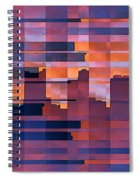 Sunset City Spiral Notebook