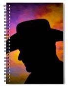 Sunset Cowboy Spiral Notebook