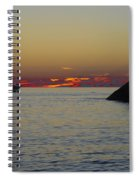 Sunset Cruise At Cape May Spiral Notebook