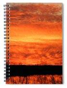 Sunset Detail  Spiral Notebook