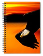 Sunset Dive  Spiral Notebook