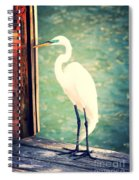 Sunset Dock Visitor Spiral Notebook