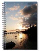 Sunset Dreams Spiral Notebook
