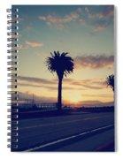 Sunset Drive Spiral Notebook