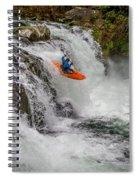 Sunset Falls Spiral Notebook