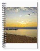 Sunset Fantasy  Spiral Notebook