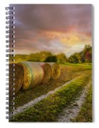 Sunset Farm Spiral Notebook