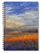 Sunset Field Spiral Notebook