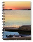 Sunset Fishing Spiral Notebook
