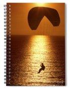 Sunset Flight Spiral Notebook