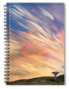 Sunset From Another Planet  Spiral Notebook