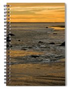 Sunset From Damon Point Spiral Notebook