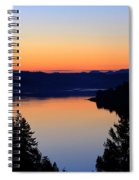 Sunset From The Deck Spiral Notebook