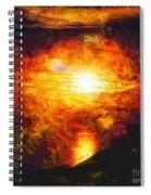 Sunset Glory Spiral Notebook