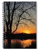 Sunset Glow Toms River New Jersey Spiral Notebook