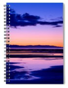 Sunset Great Salt Lake - Utah Spiral Notebook