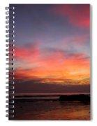 Sunset Handry's Beach Spiral Notebook