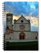 Sunset In Assisi Spiral Notebook