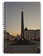 Sunset In B.bystrica Spiral Notebook