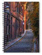 Sunset In Beacon Hill Spiral Notebook