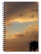 Sunset In California Spiral Notebook