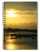 Sunset In Camargue - France Spiral Notebook