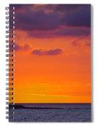 Sunset In Casablanca Spiral Notebook