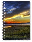 Sunset In Delaware Spiral Notebook
