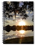 Sunset In Florida Spiral Notebook