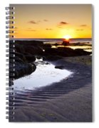 Sunset In Iceland Spiral Notebook