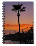 Sunset In Laguna Beach Spiral Notebook