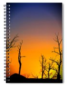 Sunset In Mesa Verde Spiral Notebook