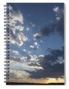 Sunset In New Mexico Spiral Notebook