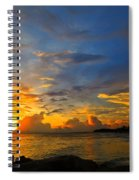 Sunset In Paradise - Beach Photography By Sharon Cummings Spiral Notebook