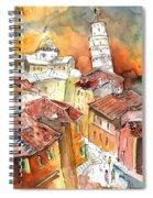 Sunset In Pisa Spiral Notebook