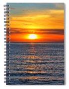 Sunset In San Clemente Spiral Notebook