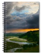 Sunset In Spain 2 Spiral Notebook
